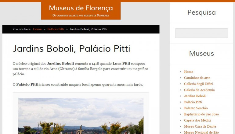 Museus de Florença, Italia